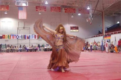 International House Belly Dance Show